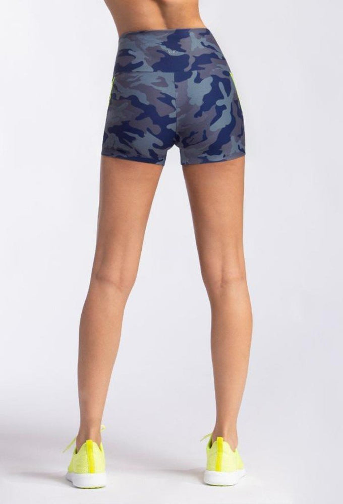 Load image into Gallery viewer, Breakneck Biker Short - Slate Camo - MAX & ME SPORT