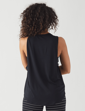 Load image into Gallery viewer, Radiate Power Tank - Black - Glyder Tank Tops
