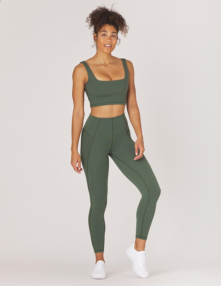 Enhance Legging - Olive - MAX & ME SPORT