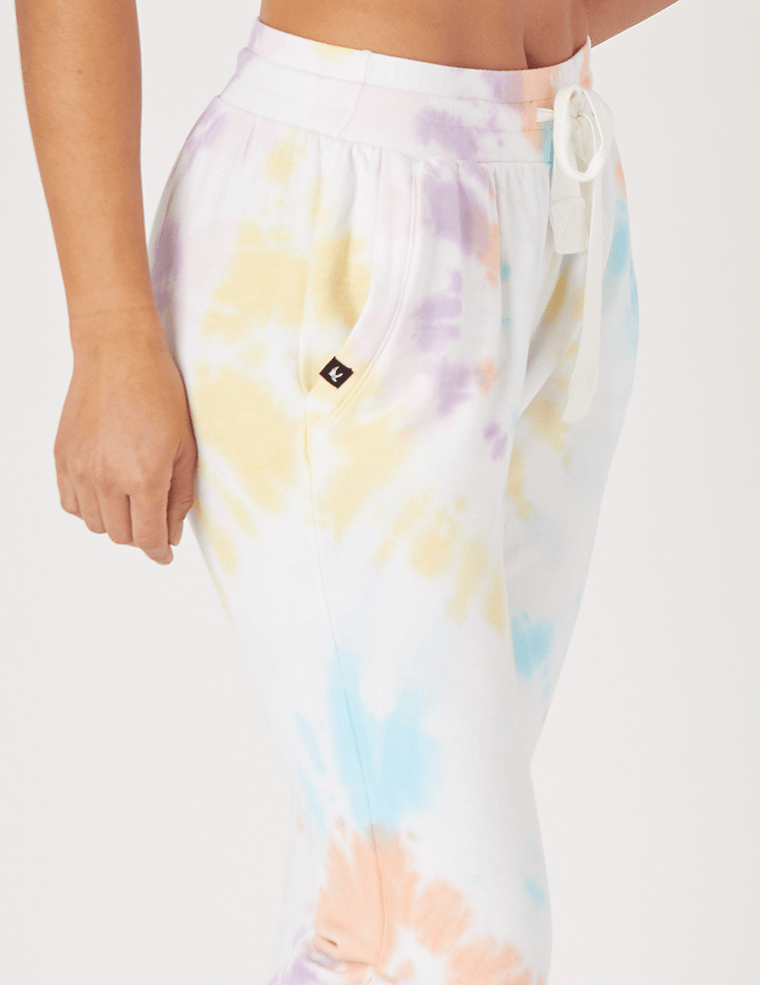 Load image into Gallery viewer, Halfway Jogger - Rainbow Tie Dye - Glyder Joggers