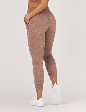 Load image into Gallery viewer, Halfway Jogger - Cocoa Leopard - Glyder New Arrivals