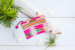 Neon Indian Pouch - Pura Vida Pouches/Clutches