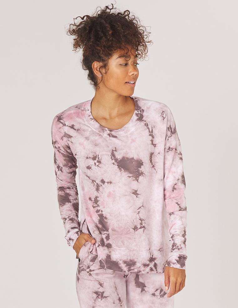 Load image into Gallery viewer, Lounge Long Sleeve - Bone Tie Dye - Glyder New Arrivals