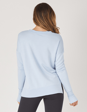 Lounge Long Sleeve - Ice Blue - Glyder Sale