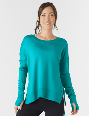 Load image into Gallery viewer, Lounge Long Sleeve - Jade - MAX & ME SPORT