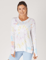 Lounge Long Sleeve - Rainbow Tie Dye - MAX & ME SPORT
