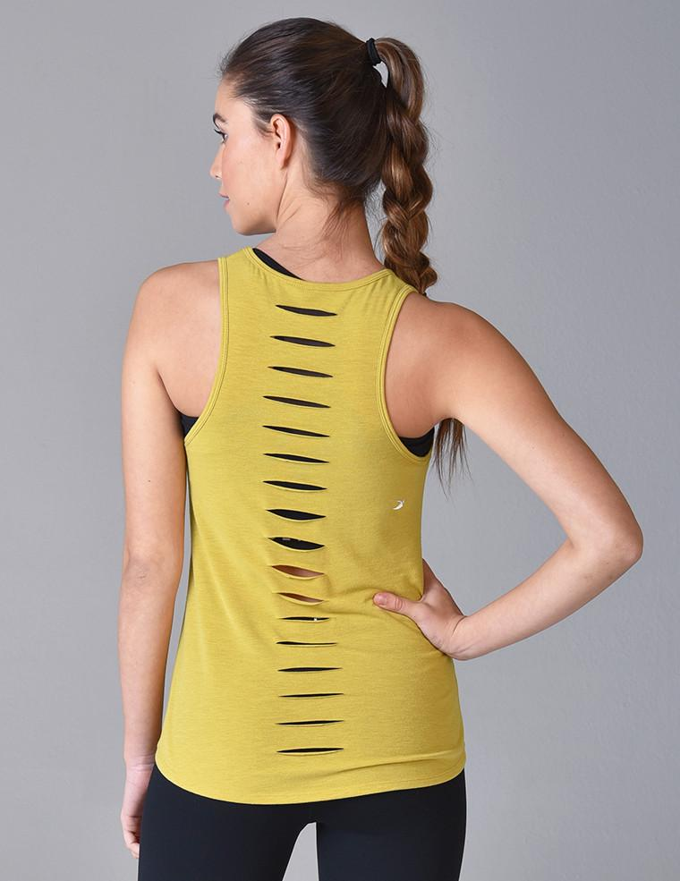 Load image into Gallery viewer, Slash Racerback Tank - Antique Moss - MAX & ME SPORT
