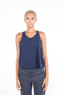 Pasteur Tank - Navy - Science of Apparel Tank Tops