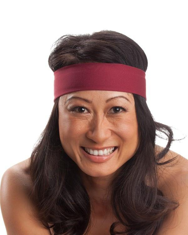 STICKS DOWN Performance Headband - Violet Love Headbands