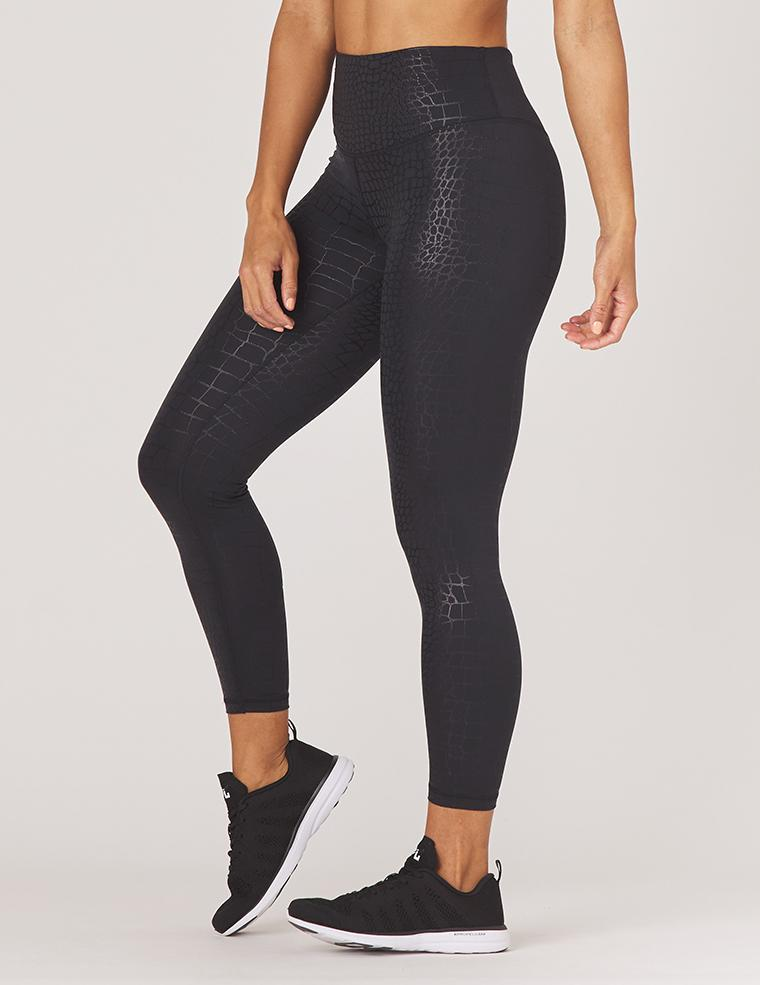 Load image into Gallery viewer, Sultry Legging - Black Gator - Glyder Leggings