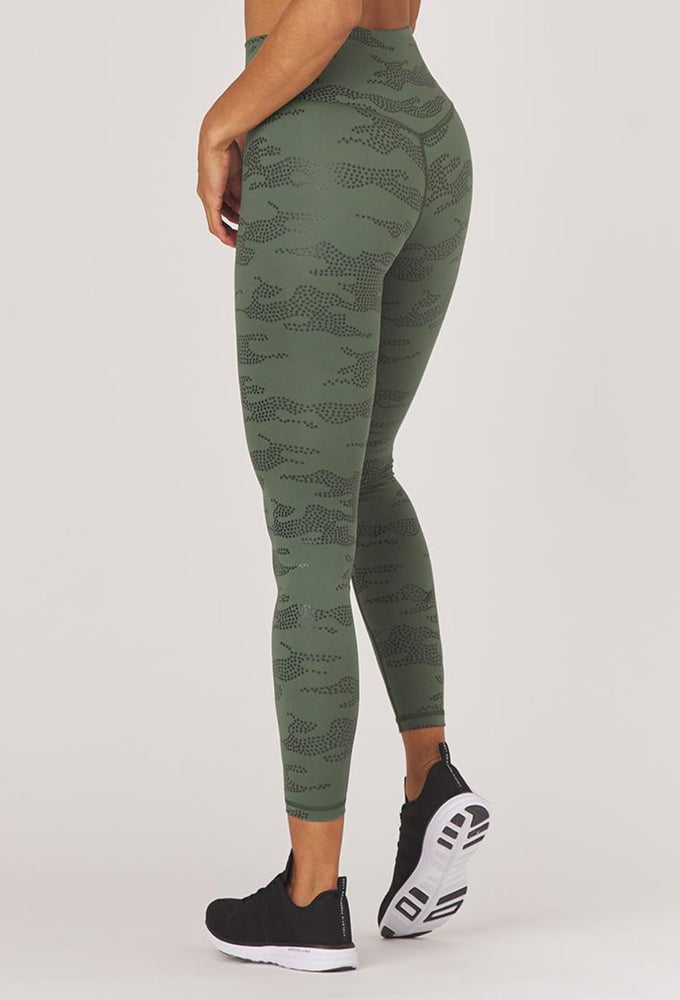Load image into Gallery viewer, Sultry Legging - Olive Star Camo