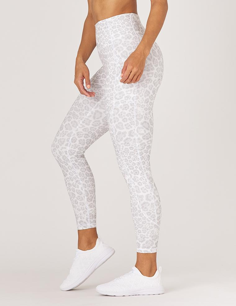 Taper Legging - Ice Leopard - Glyder Leggings