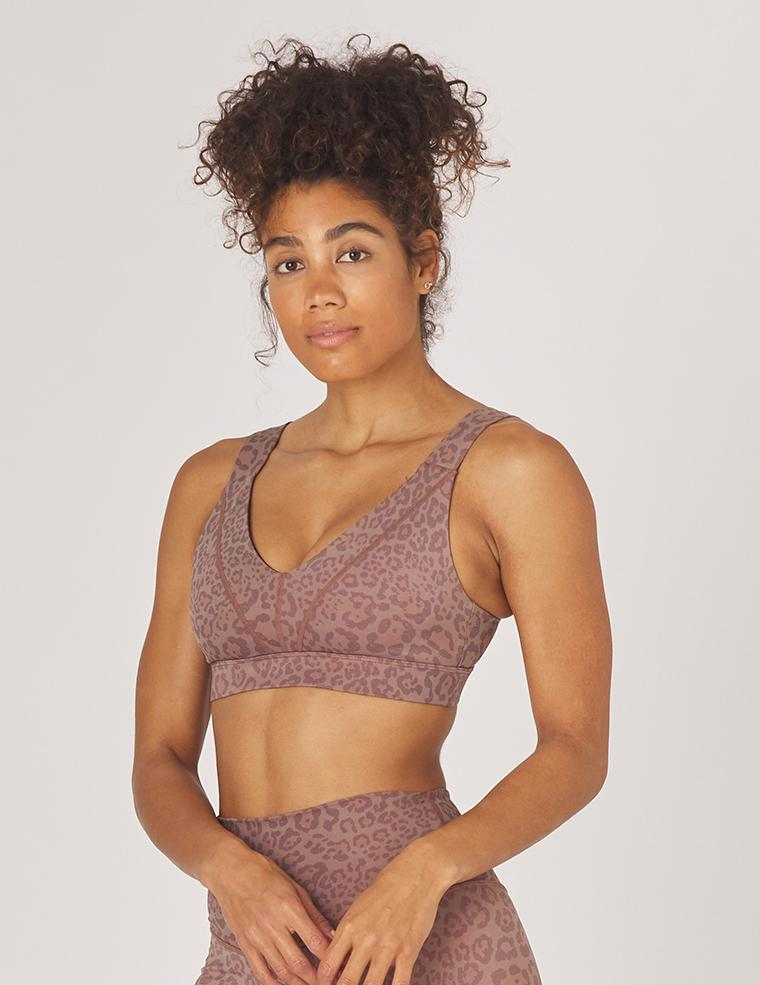 Load image into Gallery viewer, Tide Bra - Cocoa Leopard