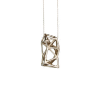 Kiskery Design 3d printed Lacunae necklace Nr 21