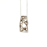 Kiskery Design 3d printed Lacunae necklace Nr 26