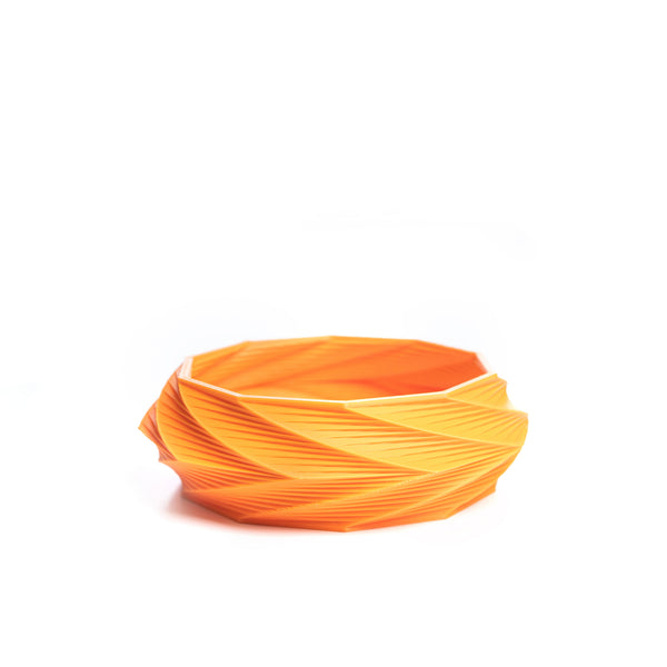 Kiskery Design 3d printed Spira S bracelet orange