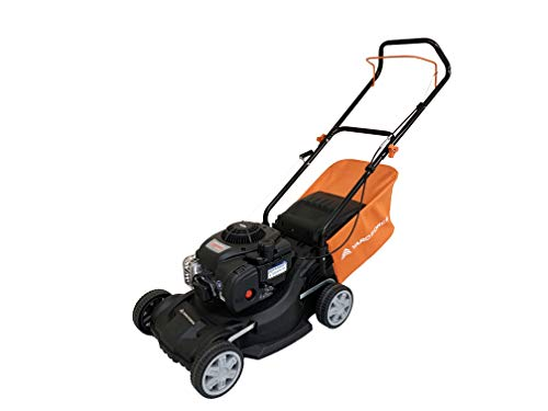 Yard Force 40 cm Hand Push Petrol Lawnmower with 125cc Briggs and Stratton 300 Engine GMB40