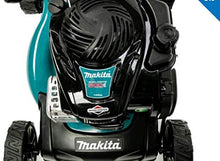 Load image into Gallery viewer, Makita Petrol Lawnmower, 41 cm, 50L grass collector