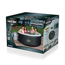 Load image into Gallery viewer, Lay-Z-Spa 54123-BNNX16AB02 Miami Hot Tub, Airjet Inflatable Spa, 2-4 Person - Black