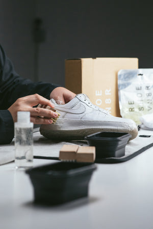 How To Clean Your All White Nike Air Force 1s