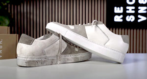 The Best Way To Clean White Common Project Bball Low Tops with Reshoevn8r