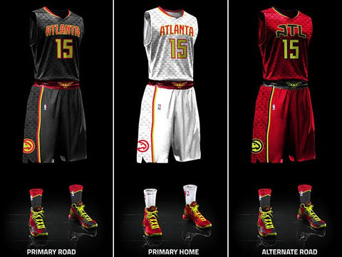 1c28285668f Atlanta Hawks Unveil New Uniforms – Reshoevn8r