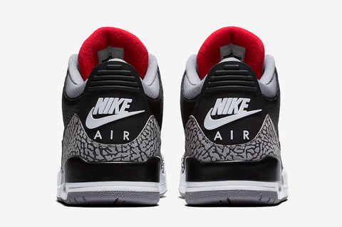 nike air jordan 3 black cement 2001 ford