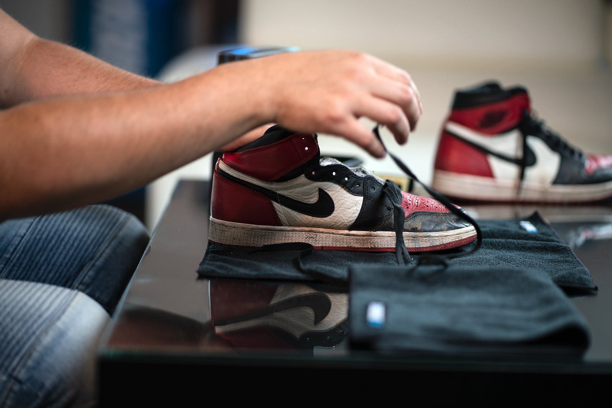 43e4398f42b4e1 How to Clean Air Jordan 1 Bred – Reshoevn8r