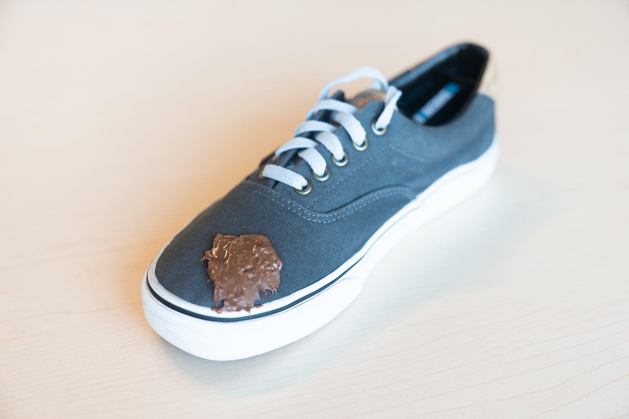 How to Remove Chocolate Stains on Canvas Vans