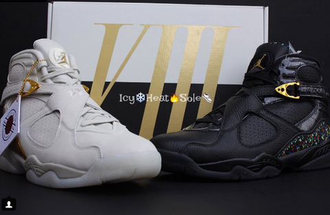timeless design 51008 fbf2c Air Jordan Retro 8 Champagne | Air Jordan Retro Sneakers ...