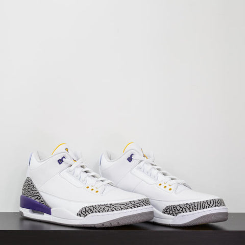 ... the Air Jordan line was recreated in the white and black. Two pairs  were highlighted in the Los Angeles Lakers color. Kobe was gifted the  one-of-a-kind ...