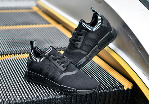 a41d05d333a0 New images of the highly anticipated Adidas NMD Triple Black have surfaced.  Since the silhouette s initial release