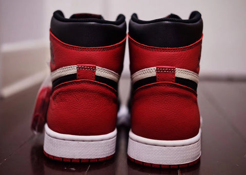 designer fashion f16f3 32a37 Air Jordan 1 Retro High Bred Toe – Reshoevn8r