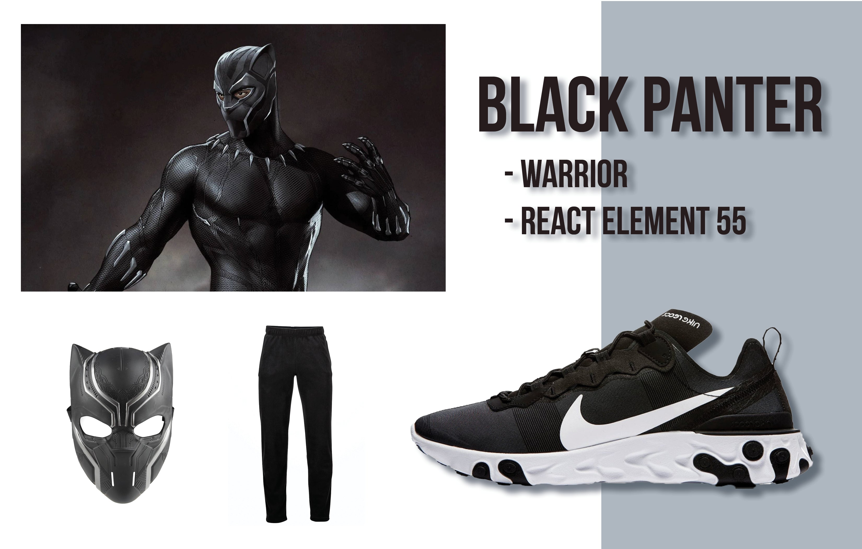 Black Panther Halloween Costume