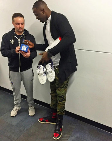 7304227767b Kobe Bryant Gifts Tony Allen With Shoes and Special Message – Reshoevn8r