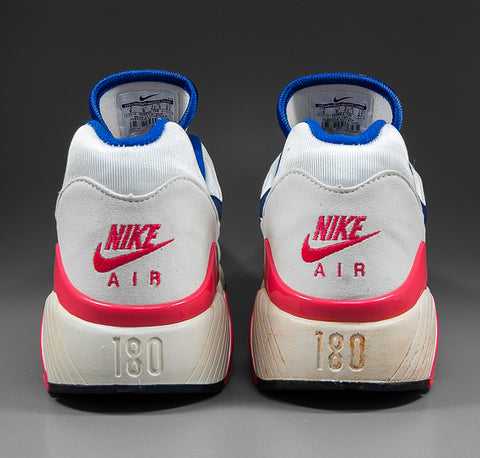 bd287ba364 This week we take a look at the Nike Air Max 180 retro sneakers. Released  in 1991, these classic Nike running shoes are now perceived as an  underrated ...