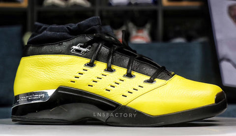 air jordan 17 low yellow perennials