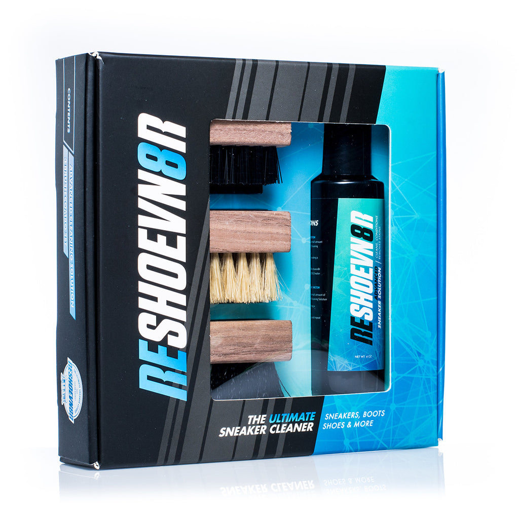 Reshoevn8r 4 oz. 3-Brush Shoe Cleaning Kit
