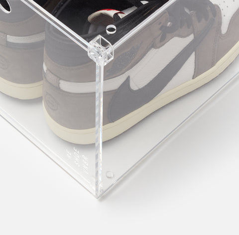 Grand Shoe Display Case (Drop Front)