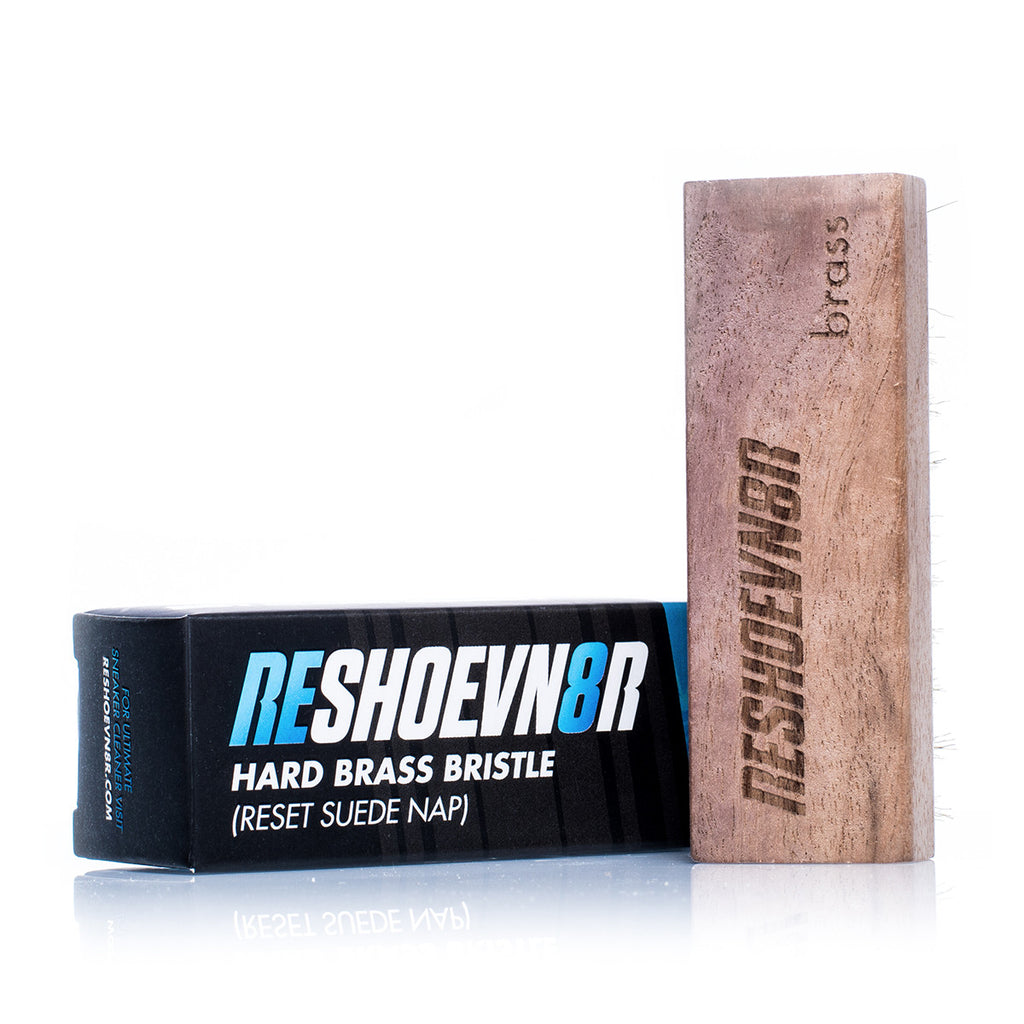 Reshoevn8r Brass Bristle Suede Brush