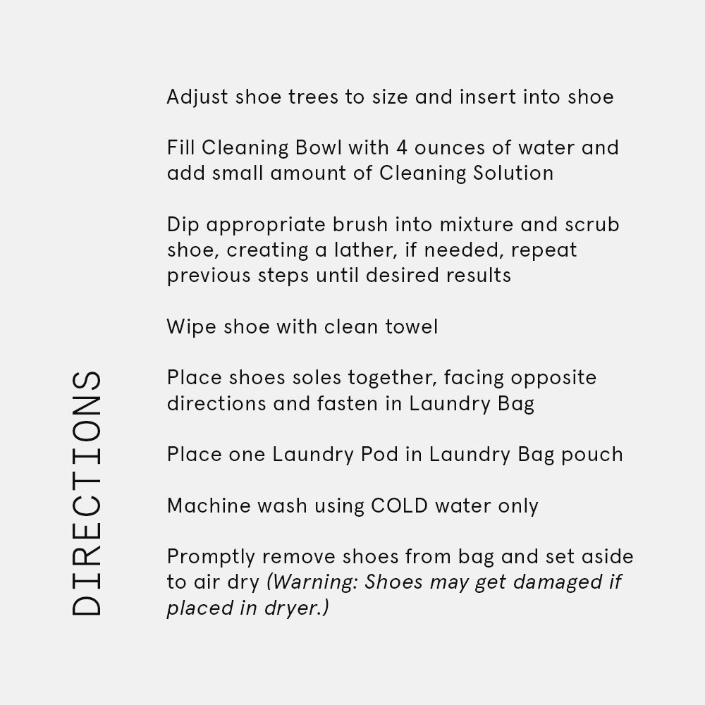 Signature Shoe Cleaning Kit