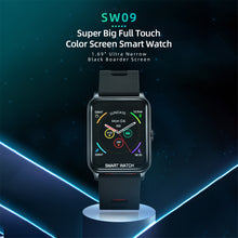"Load image into Gallery viewer, Spovan SW09 1.69"" Touch Screen Smart Watch, Blood Pressure Watches for Women, IP68 Swimming Waterproof FitnessTracker with Heart Rate Monitor"