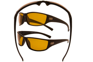 18318 ND-POL - VertX Night Driving Polarized Sport Wrap Sunglasses