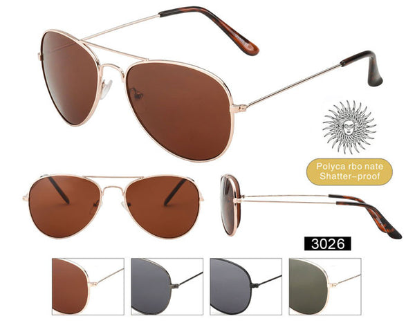 3026 - Pilot Sunglasses