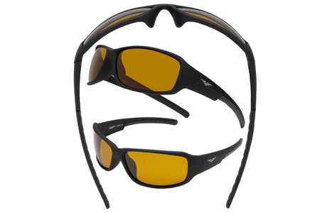 5017 PVX - PolarVX Polarized Sport Wrap w/Night Vision