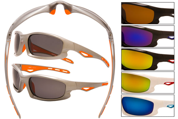 5072 PVX - PVX VertX Polarized Sports Wrap Sunglasses