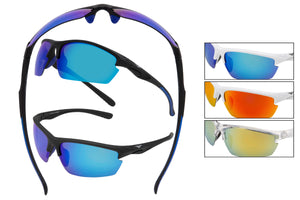 5107 PVX - PolarVX Polarized Sport Wrap Sunglasses