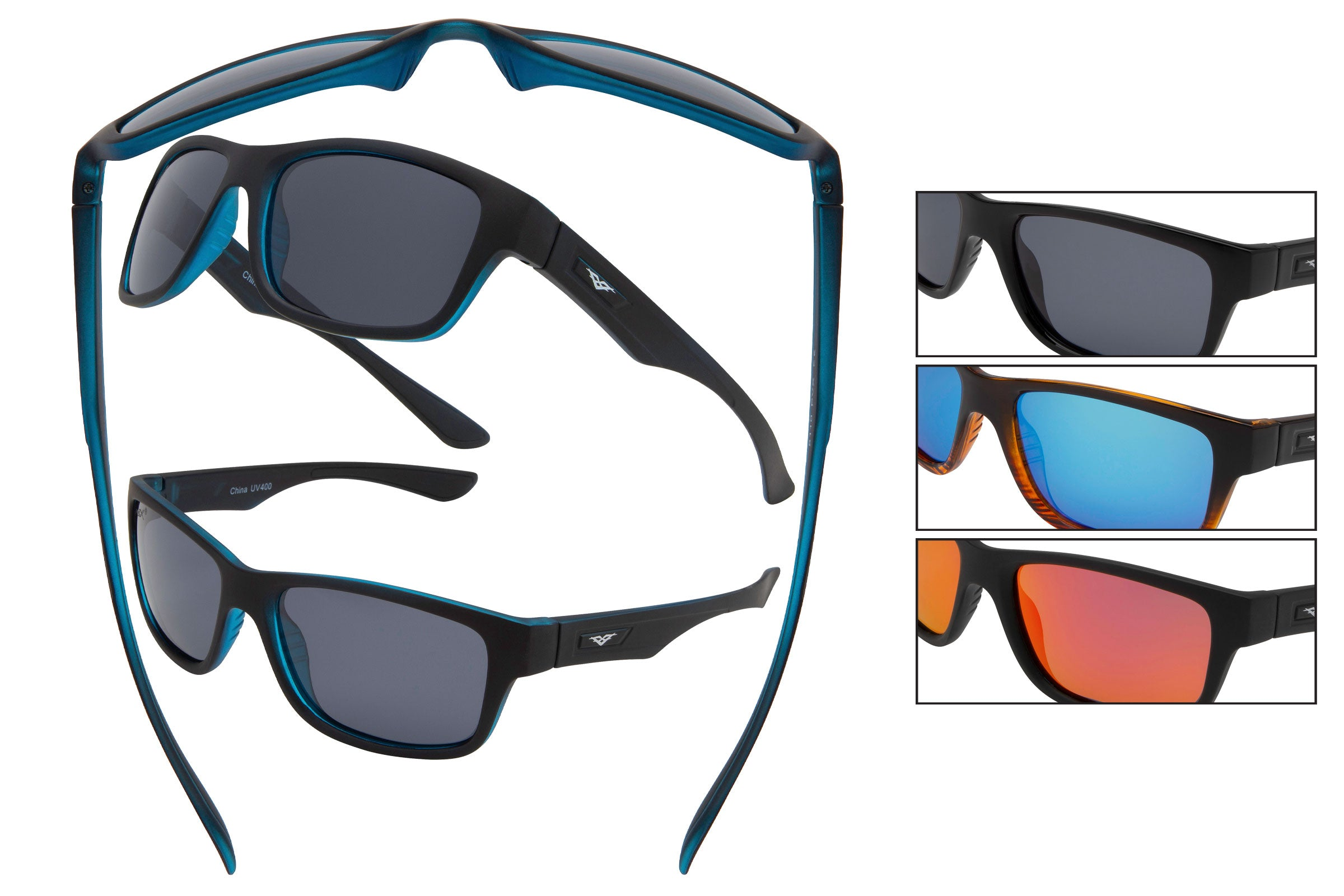 5110 PVX - PolarVX Classic Polarized Sport Sunglasses