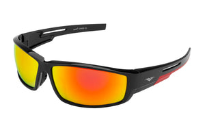 5119 PVX - PolarVX Polarized PC Sports Wrap Sunglasses