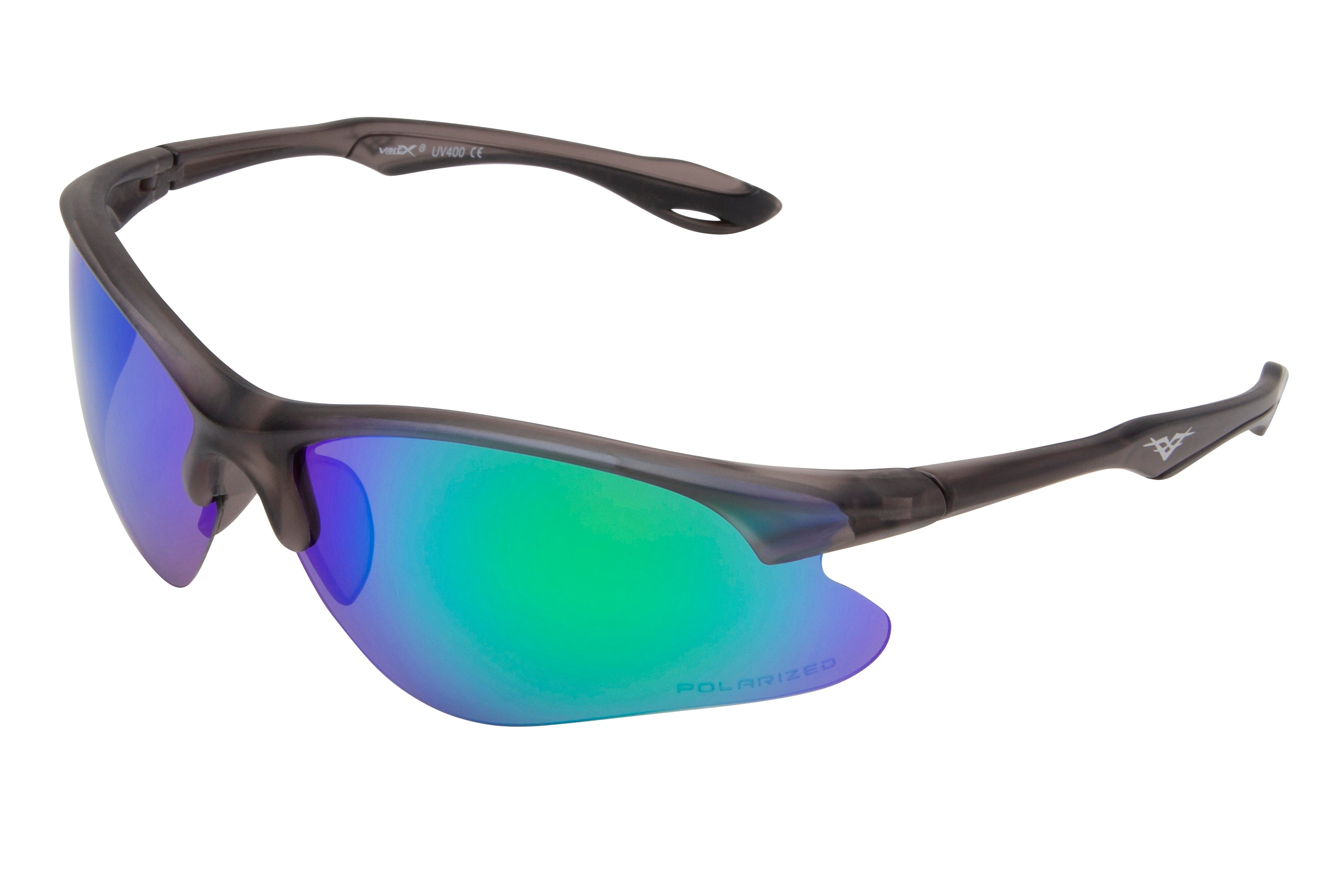 5120 PVX - PolarVX Polarized PC Sports Wrap Sunglasses
